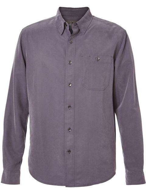 Royal Robbins Mojave Desert Pucker Maglietta a maniche lunghe Uomo viola